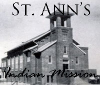 St. Ann's Indian Mission